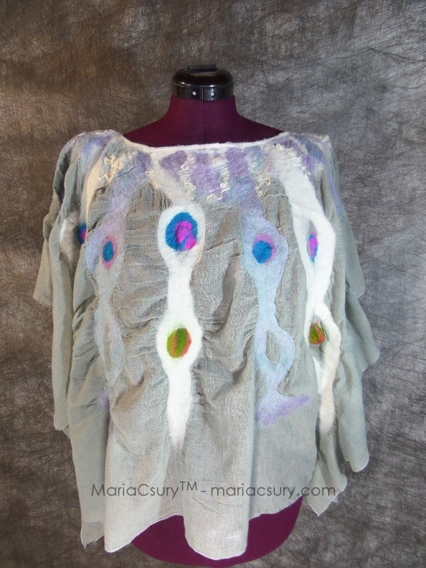 Grey_white_shabby_chic_felted_ poncho