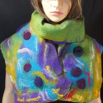 Handmade_silk_wool_felted_colorfu_scarf