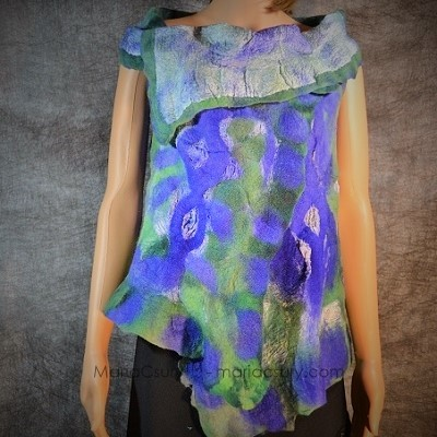 turquoise_green_felted_reversible_vest