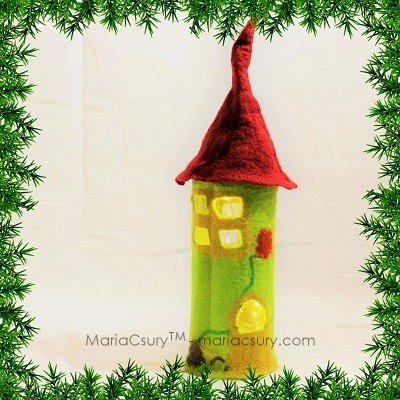 Green_Fairy_house_felt_fairy_light_Gift