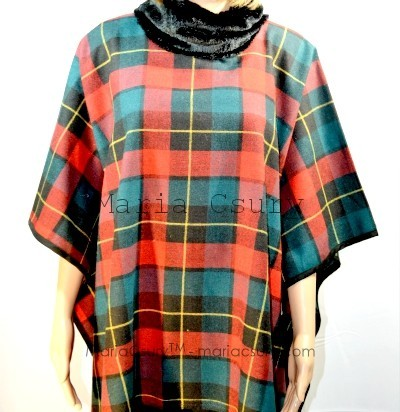 handmade-red-green-pleaded-cape