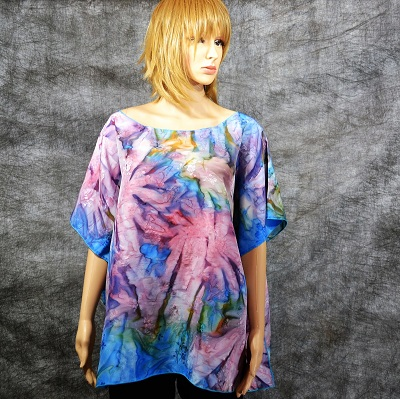 silk_swimwear_cover_poncho_hand_dyed_one_size_fits_all_blue_pink