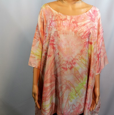 silk_swimwear_cover_one_size_fits_all_hand_dyed_poncho_pink